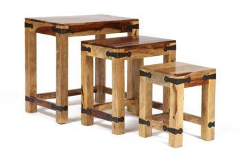Набор табуреток/столиков Бомбей — 0077