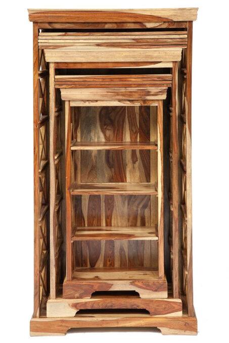 Шкафы для книг ( набор 3 шт.) Бомбей — 0761A