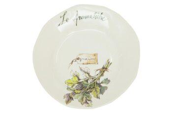 HERBS Salad plate ( mod. SP231 ) | Тарелка для салата «ТРАВЫ»