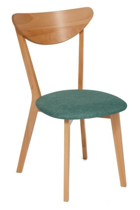 Стул мягкое сиденье/ цвет сиденья — Морская волна  MAXI (Макси)